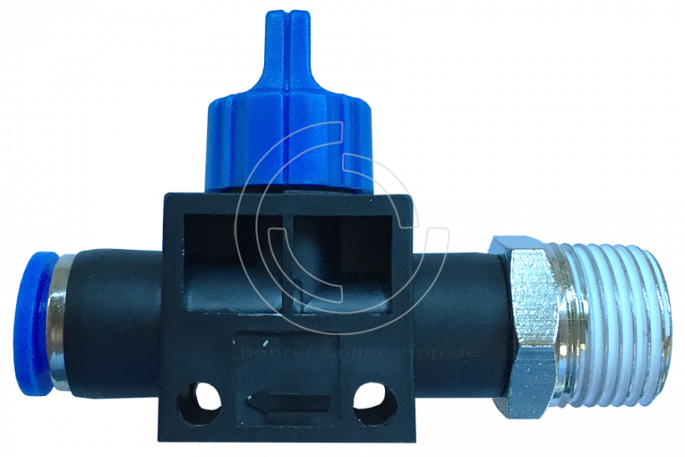 Pneumatique ball valve (HVFS) Ø 8mm avec filetage BSPT R1/8