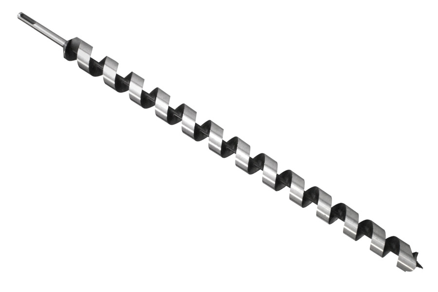 30mm SDS-Plus woodworking auger drill bit Lewis style 30x600mm