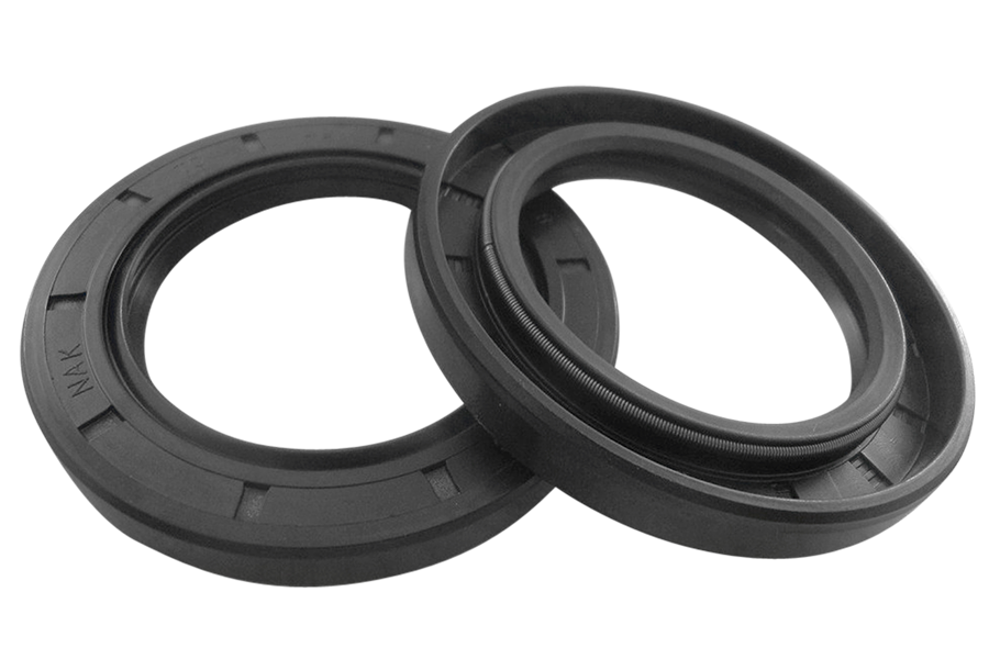 2x shaft seal rings suitable for Stihl BT45 (96390031230)