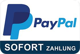 Pay with PayPal easily and securely cashless, send money. Benefit from the buyer protection protection.